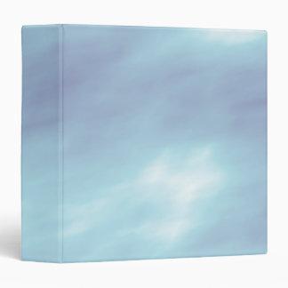 Blue Storm Clouds Binders