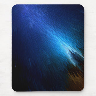 Blue Streak Stack Mouse Pad