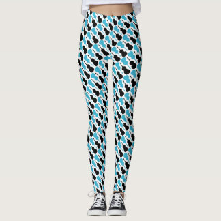 Blue String Bass Leggings