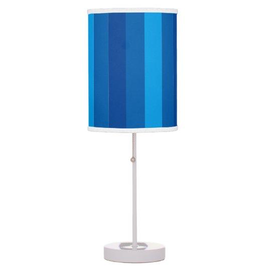 Blue Stripe Table Lampe Desk Lamps