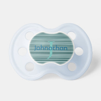 Blue Striped Any Name Pacifier