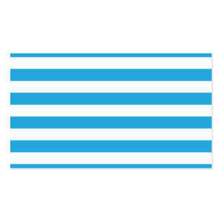 Blue Stripes Business Card