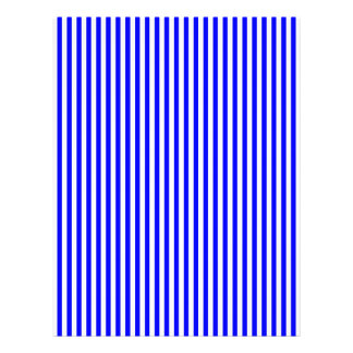 Blue Stripes Letterhead