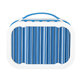 Blue Stripes Lunchboxes