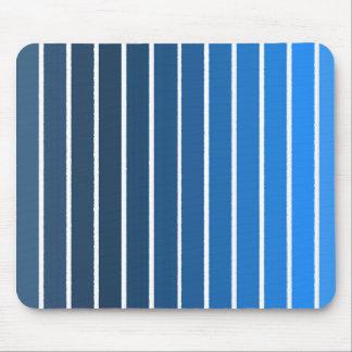 blue stripes mouse pad