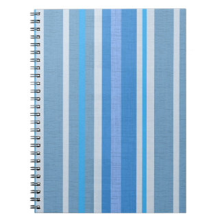 Blue Stripes Notebooks