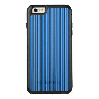 Blue Stripes OtterBox iPhone 6/6s Plus Case