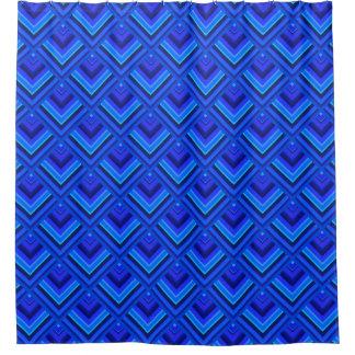 Blue stripes scale pattern