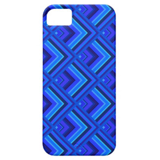 Blue stripes scale pattern iPhone 5 cases