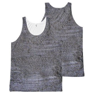 BLUE STUCCO TEXTURE All-Over-Print TANK TOP