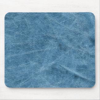 Blue suede texture mouse pad