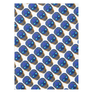 Blue Sugar Skull Tablecloth