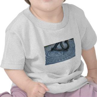 Blue sun dial t-shirts