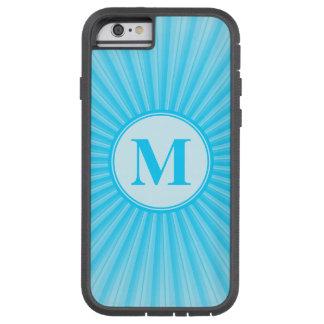 Blue Sun Monogram Customisable Tough Xtreme iPhone 6 Case