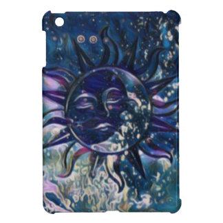 Blue Sun Moon iPad Mini Covers