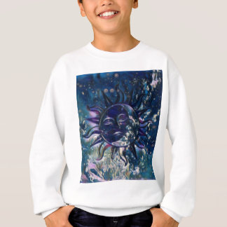 Blue Sun Moon Sweatshirt