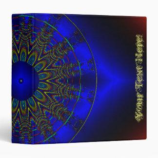 Blue Sun Vinyl Binders