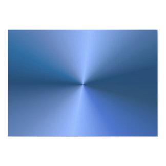 "Blue ""sunburst"" background invitation"