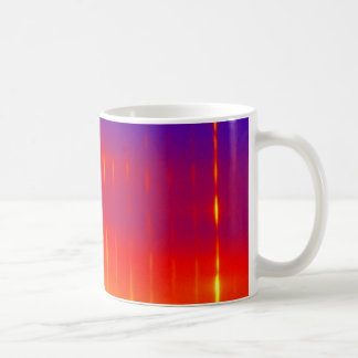 blue sunburst mug