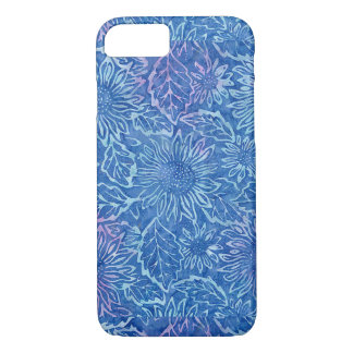 Blue Sunflower Iphone 7 Case