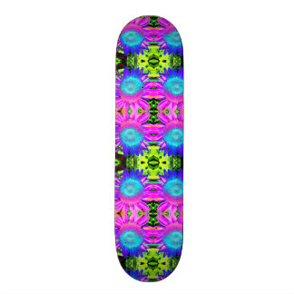 Blue Sunflower Skateboard Deck