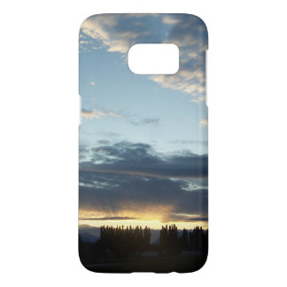 Blue Sunset Dreams Samsung Galaxy S7 Case