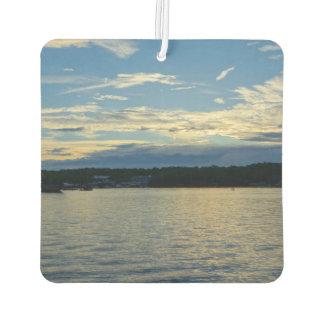 Blue Sunset Lake Of Ozarks Car Air Freshener