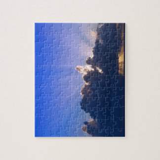 Blue sunset puzzle