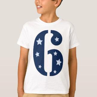Blue Superstar 6 T Shirt