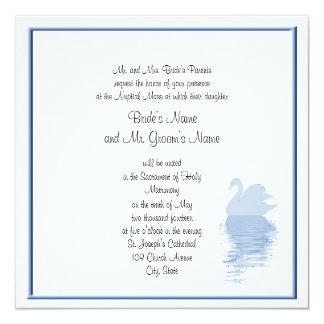 Blue Swan Invitation 2