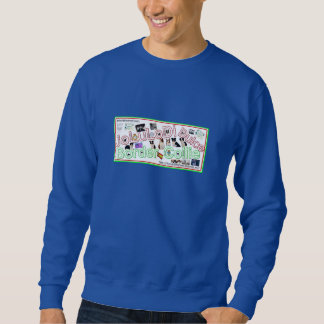 Blue sweater shirt anagram jolulodi