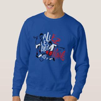 Blue sweater shirt France