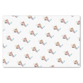 Blue Swede Gift Wrap Tissue Paper