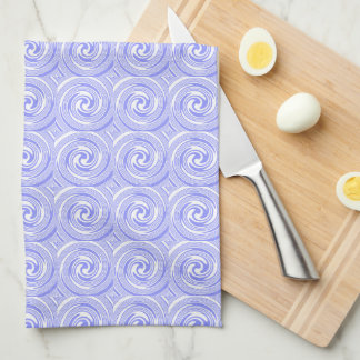Blue Swirls Nautical Inspired Towels