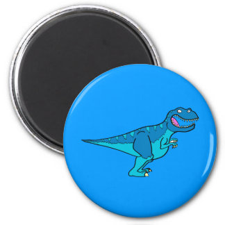 Blue T-rex Magnet
