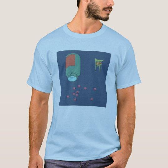 blue t-shirt chill pill