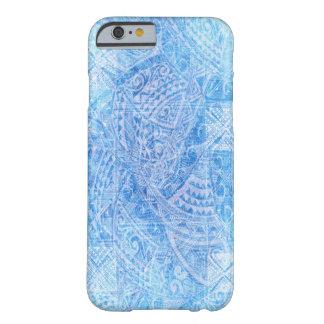 Blue Tahitian Tapa case