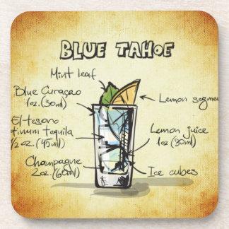 Blue Tahoe Drink Recipe Coaster