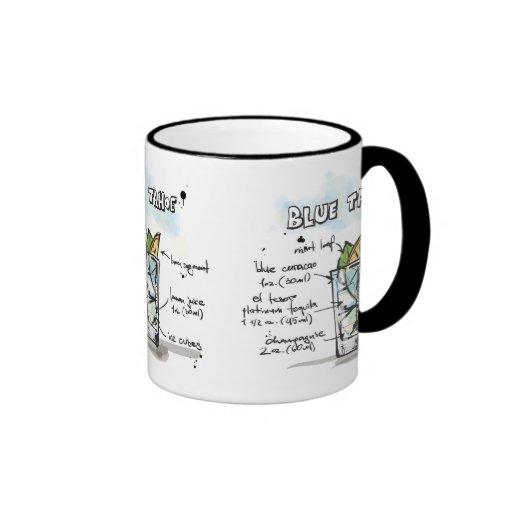 Blue Tahoe Drink Recipe Design Mug