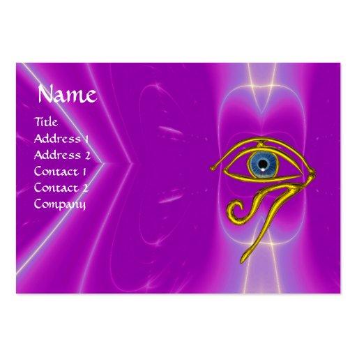 BLUE TALISMAN, purple violet white pink Business Card