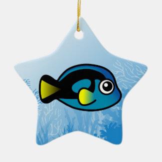 Blue Tang Ceramic Ornament