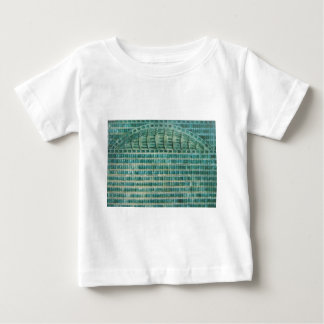 blue teal tiles baby T-Shirt