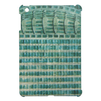 blue teal tiles cover for the iPad mini