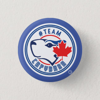 Blue Team Capybara Button (small)