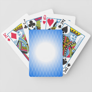 Blue Template Bicycle Playing Cards