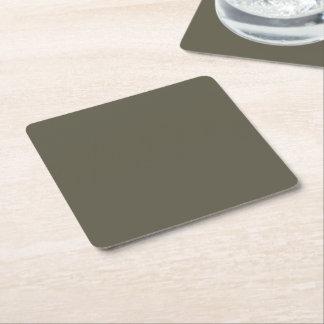 BLUE Template DIY change colour ADD TEXT IMAGE Square Paper Coaster