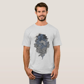 Blue Tentacle T-Shirt