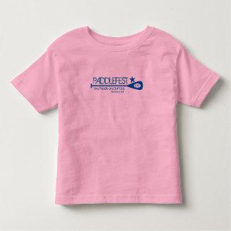 Blue Text ringer T Toddler T-shirt