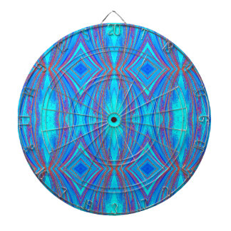 Blue texture dartboard
