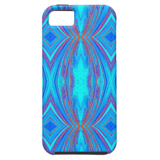 Blue texture iPhone 5 cover